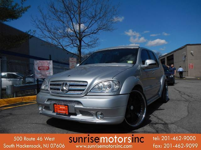 Mercedes-Benz : M-Class 4dr AWD SHOW CAR WIDE BODY CUSTOM LEATHER GUCCI INTERIOR SOUND SYSTEM TVS BREMBO BRAKES