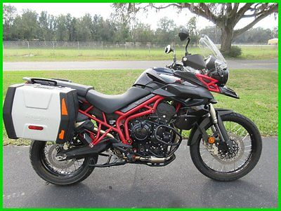 Triumph : Tiger 2014 triumph tiger xc hard luggage low miles factory warranty sweet