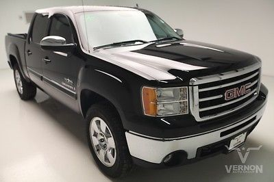 GMC : Sierra 1500 SLE Texas Edition Crew Cab 2WD 2009 ebony cloth mp 3 auxiliary trailer hitch v 8 vortec we finance 97 k miles