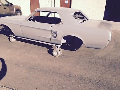 Ford : Mustang none 1967 ford mustang sand blasted epoxy coated arizona car