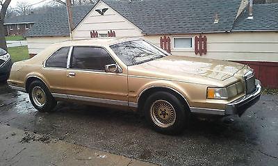 Lincoln : Mark Series Bill Blass Sedan 2-Door 1984 lincoln mark vii bill blass sedan 2 door 5.0 l