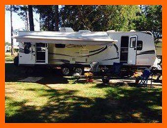 2012 KZ Spree 323CSS 32.4' Travel Trailer 2 Slides Power Hitch TV/DVD KANSAS