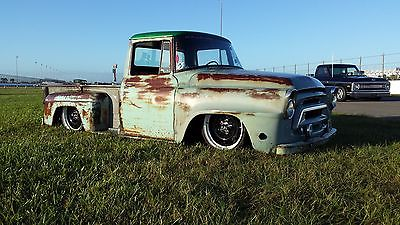 International Harvester : Other custom 1958 international a 102 great patina daily driver ratrod shop truck rat rod