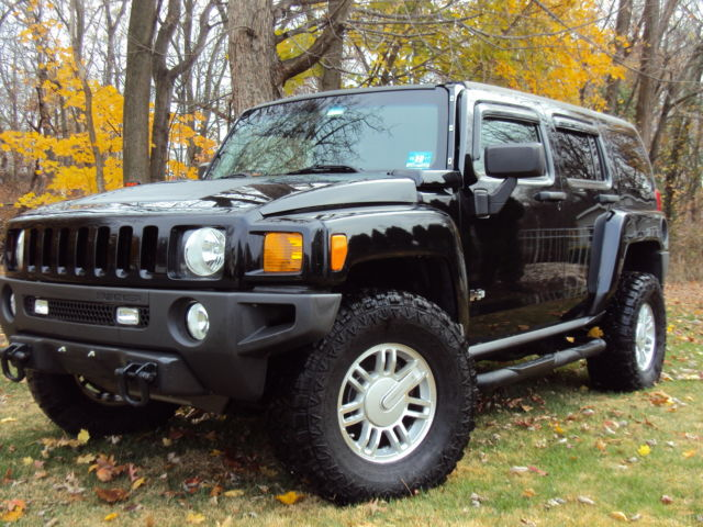 Hummer : H3 4dr AWD SUV THEFT/STRIPPED EZ FIX RUNS & DRIVES REBUILDABLE REPARABLE PROJECT SALVAGE TITLE