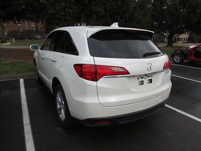 Acura : Other FWD 4dr Tech Pkg FWD 4dr Tech Pkg Low Miles SUV Automatic Gasoline 3.5L V6 Cyl White Diamond Pear