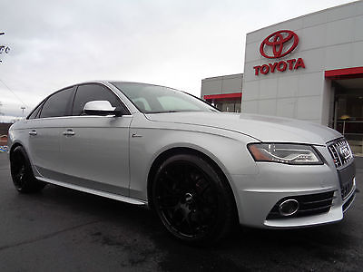 Audi : S4 S4 AWD Quattro 3.0L Heated Seats Moonroof 2010 audi s 4 quattra supercharged premium plus navigation leather sunroof video