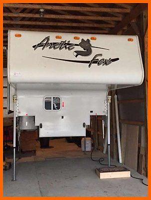 2008 Arctic Fox Silver Fox 811 9' Truck Camper Slide Out Generator Kitchen PA