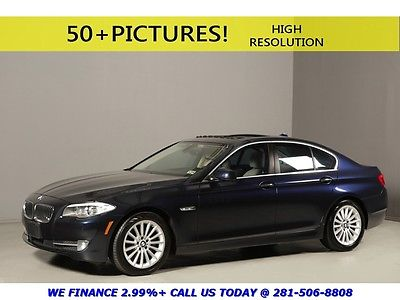 BMW : 5-Series 2012 535i SUNROOF LEATHER PREM PKG WOOD XENONS PDC 2012 bmw 535 i sunroof leather prem pkg wood xenons pdc blue tan sport low miles