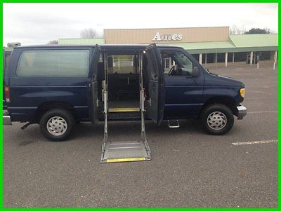 Ford : E-Series Van Chateau HANDICAP WHEELCHAIR LOWER FLOOR LOW MILES1994 Chateau Used 4.9L V6 12V