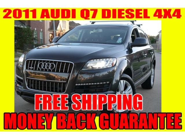 Audi : Q7 quattro 4dr 2011 audi q 7 quattro turbo diesel 1 owner rust free serviced free shipping