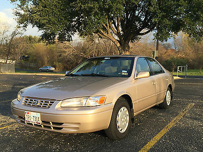 Toyota : Camry LE Sedan 4-Door 1997 camry 58 k miles best camry in us for the price new tires stereo battery