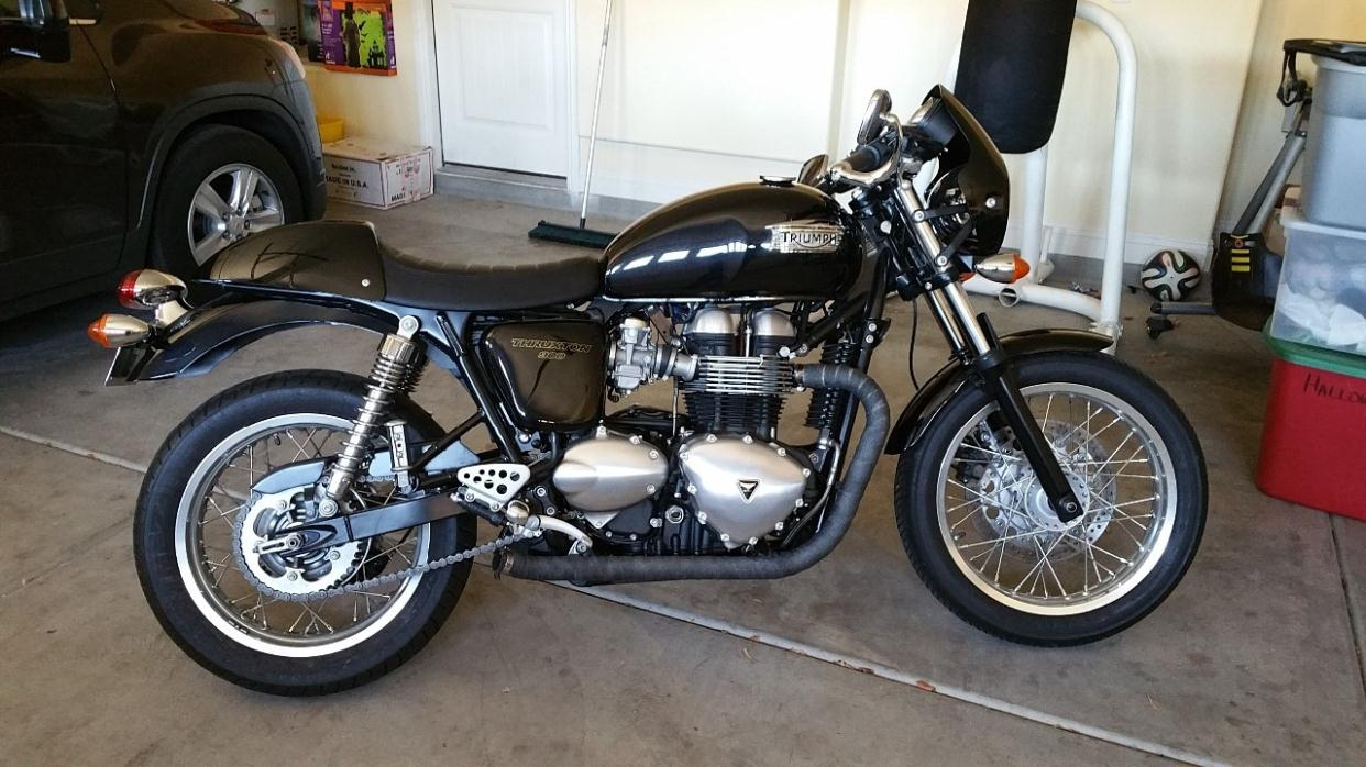 triumph thruxton 900 motorcycles for sale in las vegas nevada. Black Bedroom Furniture Sets. Home Design Ideas