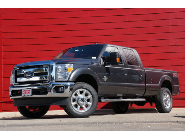 Ford : F-350 Lariat F350 Gray 4X4 Lariat Navigation Moonroof Heated & Cooled Seats FX4 Off Road