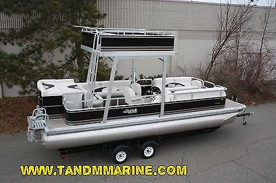 Special---New  24 Ft Elete pontoon boat with swim roof