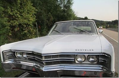 Chrysler : 300 Series 300 1968 chrysler 300 convertible limited production run upgraded engine clean body