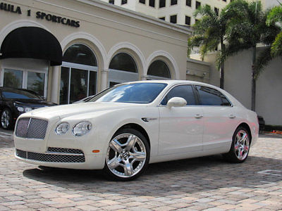 Bentley : Flying Spur 4dr Sedan 2014 bentley continental flying spur mulliner 151 150.00 msrp