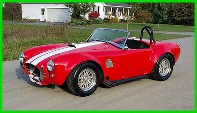 Shelby : Shelby AC Cobra Replica 1965 factory 5 ac cobra 302 ci v 8 5 speed borg warner t 5 five 65 kit car replica