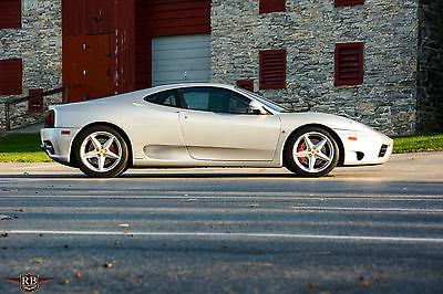 Ferrari : 360 Modena F1 2001 ferrari 360 modena f 1 coupe