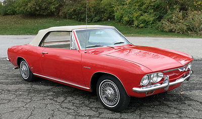 Chevrolet : Corvair Corsa 1966 corvair corsa convertible