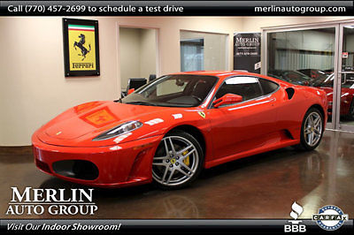 Ferrari : 430 2dr Coupe Berlinetta 2005 ferrari 430 coupe berlinetta low miles manual gasoline 4.3 l 8 cyl red