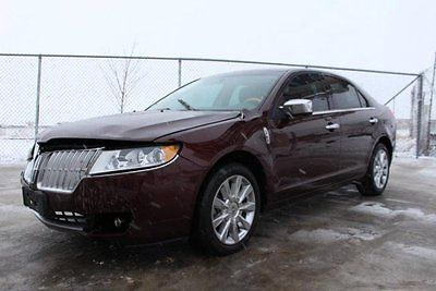 Lincoln : MKZ/Zephyr FWD 2012 lincoln mkz sedan damaged rebuilder low miles luxurious nice unit wont last