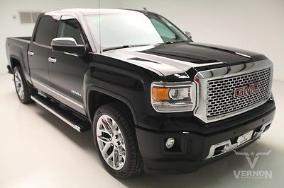 GMC : Sierra 1500 Denali Crew Cab 2WD 2014 navigation leather heated sunroof v 8 ecotec we finance 22 k miles
