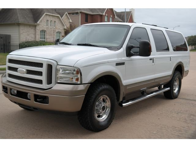 Ford : Excursion 4dr 6.0L Pwr 2005 ford excursion limited diesel 4 x 4 clean title free shipping