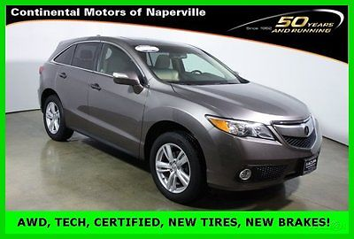 Acura : RDX Tech Pkg with Navigation, ELS audio, rear camera 2013 technology package certified fwd