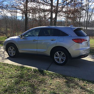Acura : RDX 4-door 2013 acura rdx silver 72 k miles fwd v 6 5 passenger seating comb 23 mpg