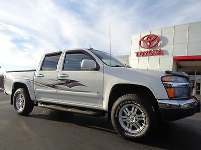 Chevrolet : Colorado Crew Cab LT 5 Cylinder Automatic 4x4 White 4WD 2009 chevy colorado crew cab 4 x 4 lt 39 k miles graphics bedliner tow hitch video