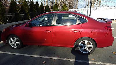 Hyundai : Elantra SE Sedan 4-Door 2008 hyundi elantra se red with new tires routers breaks w cruise control