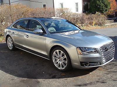 Audi : A8 L 2013 audi a 8 l premium plus pkg cold weather pkg driver assist pkg hdd nav