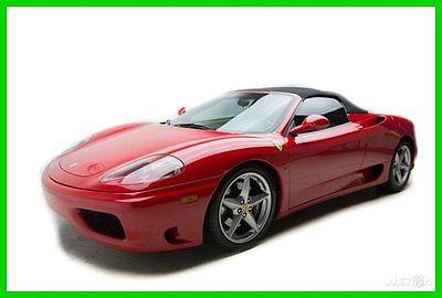 ferrari 360 modena spider cars for sale. Black Bedroom Furniture Sets. Home Design Ideas