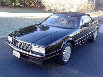 Cadillac : Allante CV 1991 cadillac allante