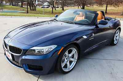BMW : Z4 sDrive28i Convertible 2-Door BMW Z4 SDRIVE28I Hardtop Convertible 34,000 miles blue leather M Package!!!