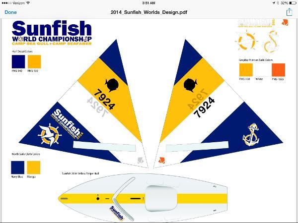 2015 Laser Performance Sunfish