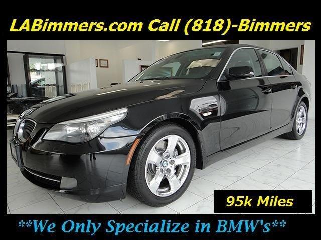 2008 BMW 535i RWD 535i 4dr Sedan