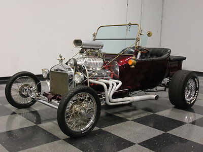 Ford : Other MEAN 'LIL BUCKET, SUPERCHARGED 350 V8, DUAL QUADS, BLOWN, ROLLER ROCKER, 4-SPEED