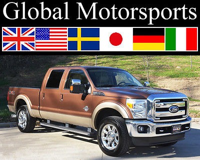 Ford : F-250 XLT/Lariat Plus Pkg/FX4/4x4/Nav/Htd AC Seats/37k MILES 2011 xlt lariat plus pkg 4 x 4 nav htd ac seats remote start 37 k miles