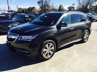 Acura : MDX Advance/Entertainment Pkg Acura MDX 2014 BillyNavarre Nice Lowmiles
