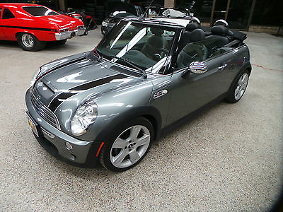 Mini : Cooper S 2007 mini cooper s convertible 2 door 1.6 l 103 k mint