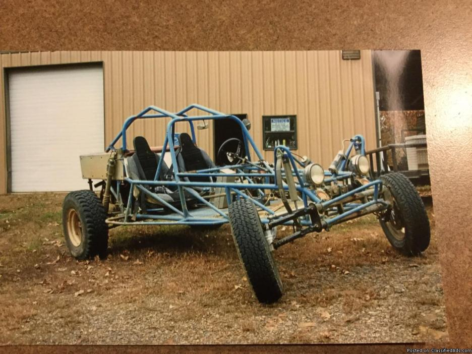 Cage buggy/dune buggy/rail car