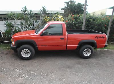 Chevrolet : C/K Pickup 1500 CHEVY 1500 1990 chevy 1500 4 x 4 automatic a c power windows power doors very low miles