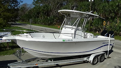 NICE 2004 PRO-LINE 25 SPORT CC OFFSHORE FISHING BOAT PRO LINE 244 HRS. EXPORT 23