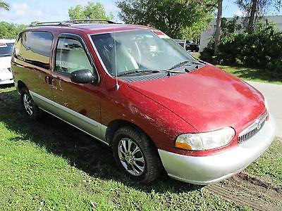 Mercury : Villager 4 DOOR REAR HATCH 2000 mercury villager mini van