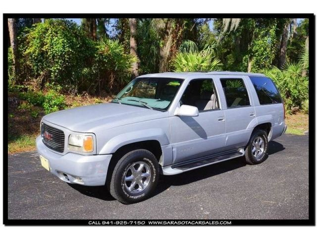 GMC : Yukon Denali 4dr 4 4 x 4 denali 4 dr 4 suv 5.7 l cd locking limited slip differential tow hitch abs a c