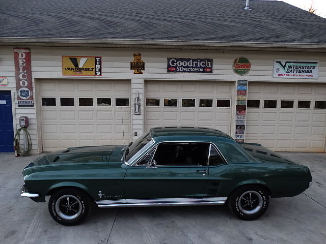 Ford : Mustang 1967 msutang 289 engine automatic power steering