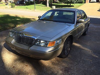 Mercury : Grand Marquis GS Well maintianed, garaged, low mileage used car. Service Records & Carfax