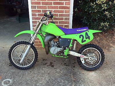 Kawasaki : KX 1997 kawasaki kx 60 motocross dirt bike green kx 60 kids