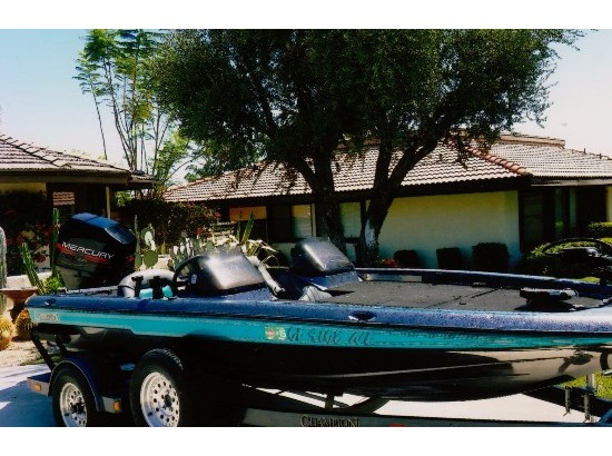 1996 Champion Boats Champion Bass Boat